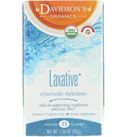 Ayurvedic Laxative Tea 25 BAG - (The Best Laxative Tea)