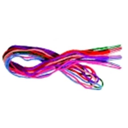 Pepperell Braiding 36 in. Tipped Yarn Lace, Pack - 144