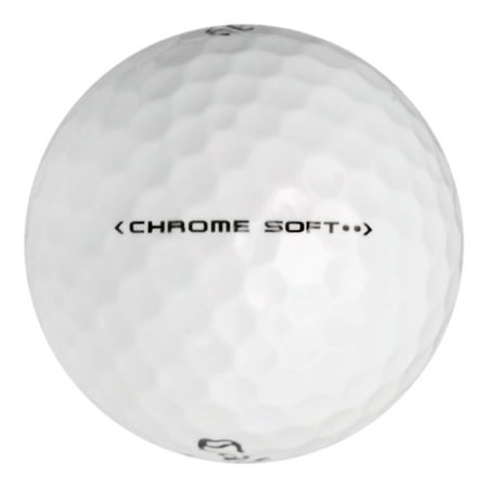 Callaway Chrome Soft - Near Mint (AAAA) Grade - Recycled (Used) Golf Balls - 50 Pack