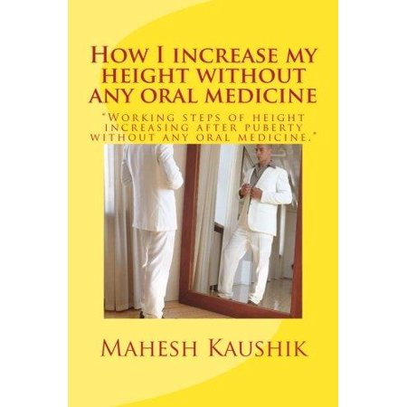 How I Increase My Height Without Any Oral Medicine