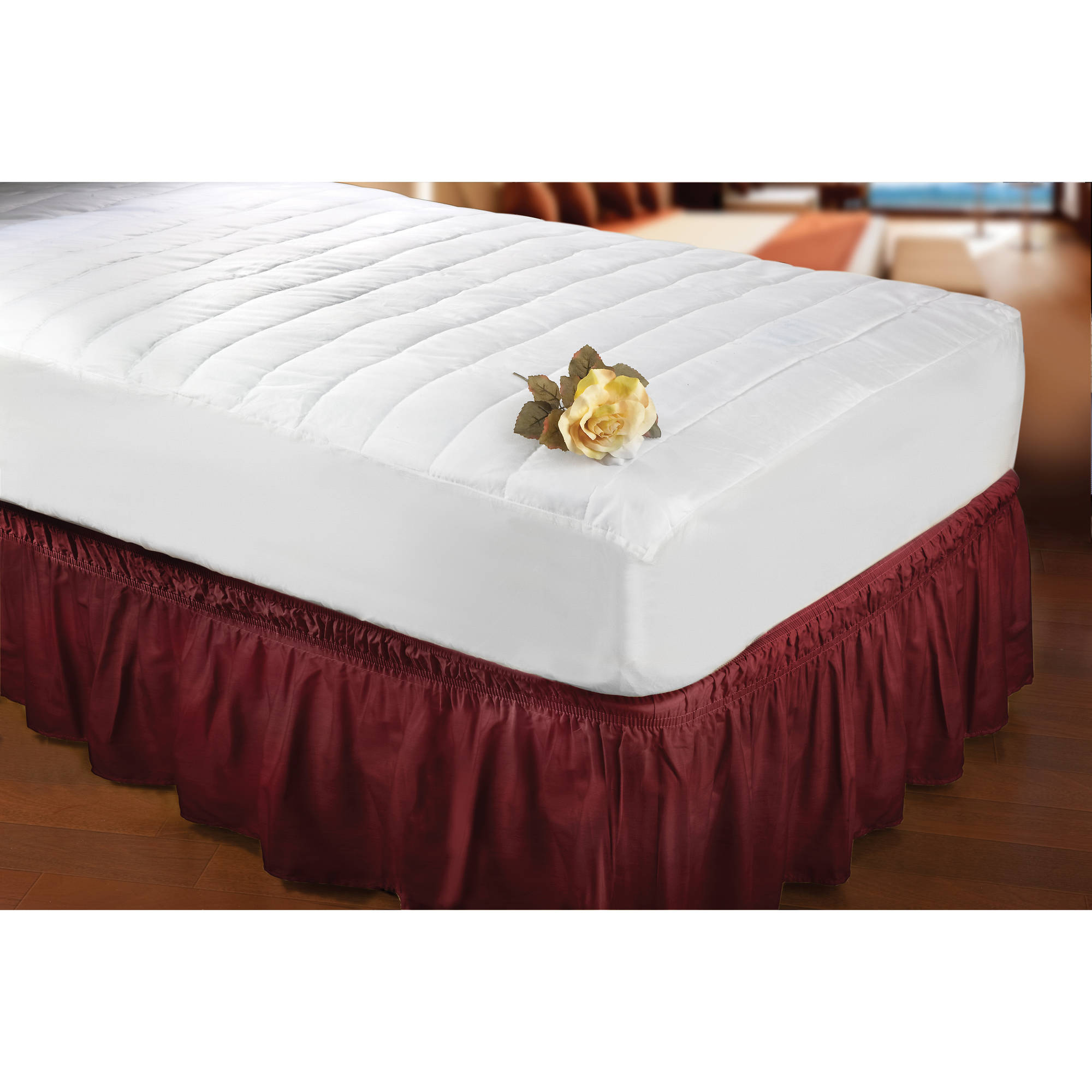 Kennedy Home Collection Antibacterial Mattress Pad/Bed Cover