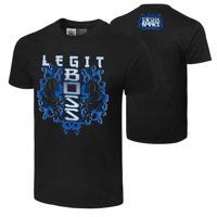 "Official WWE Authentic Sasha Banks ""The Legit Boss""  T-Shirt Black Small"