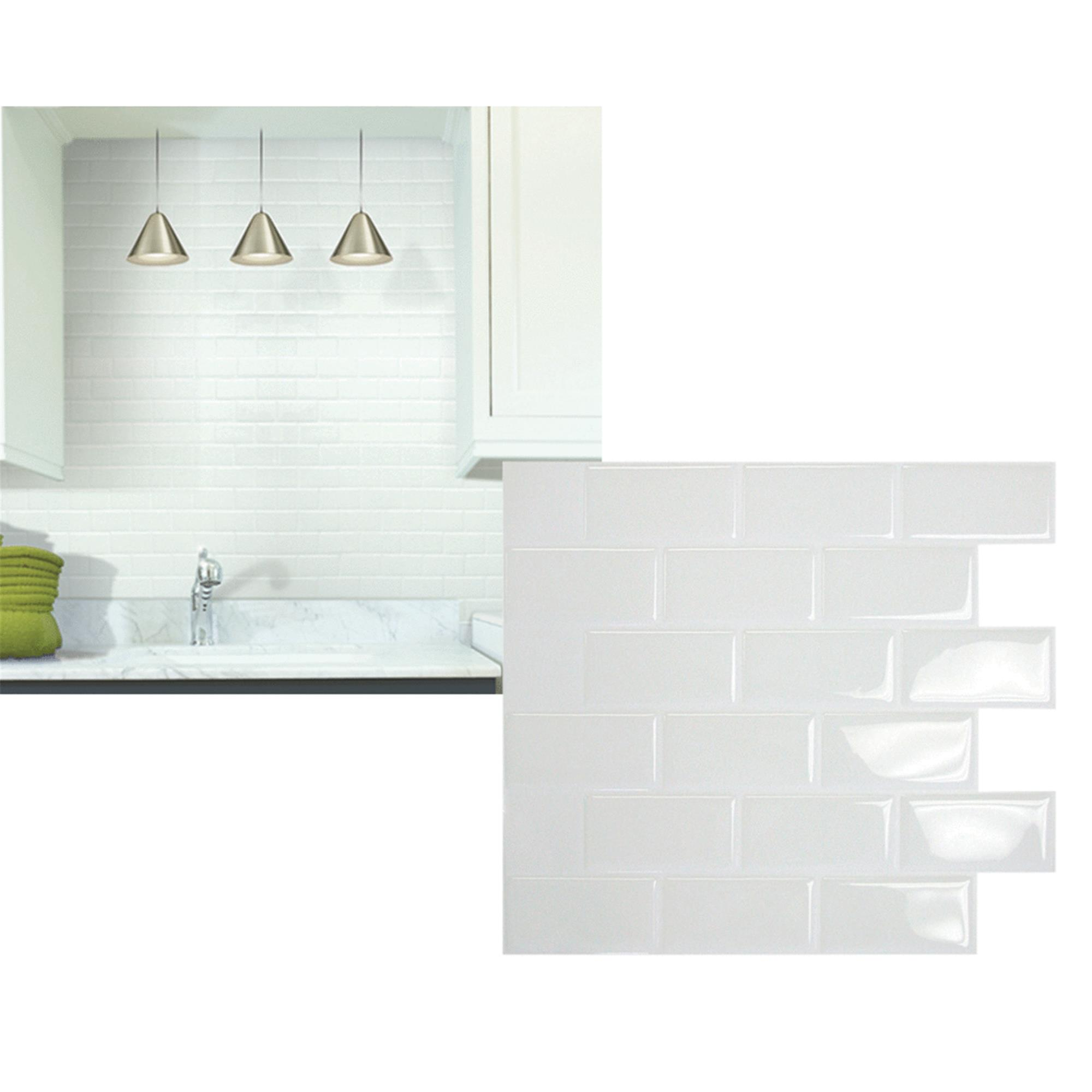 Smart Tiles Original Peel & Stick Backsplash Wall Tile