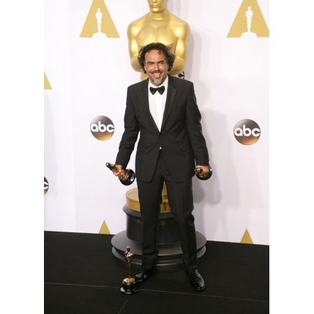 Alejandro G Inarritu Winner Of Best Original Screenplay Best Director And Best Motion Picture For Birdman In The Press Room For The 87Th Academy Awards Oscars 2015 - Press Room The Dolby Theatre At