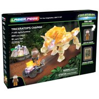 Laser Pegs Triceratops Charge