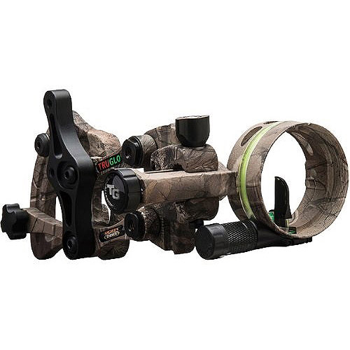 Truglo Archers Choice Range Rover Archery Sight, Xtra Camo, Micro Light 19 19506