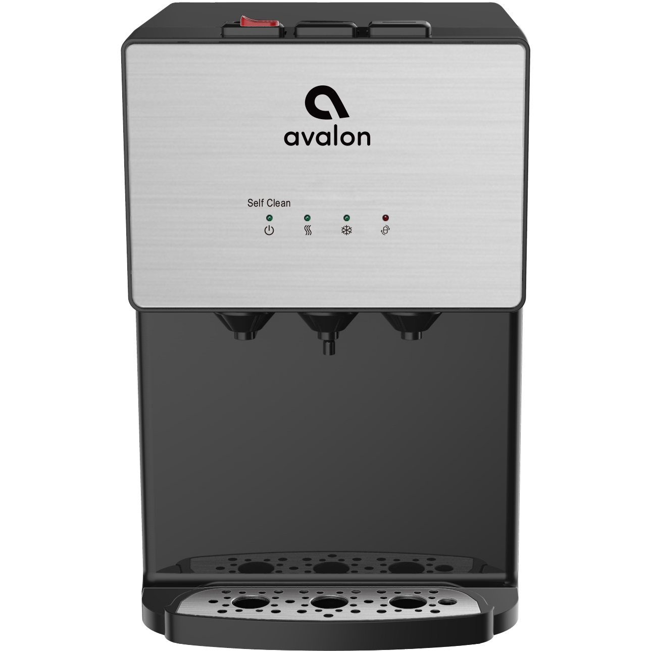 Avalon A12 Self Cleaning Countertop Bottleless Water Cooler Dispenser, 3 Temperatures, UL/Energy Star- Stainless Steel