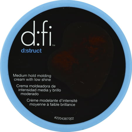 d:fi d:struct Medium Hold Molding Cream with Low Shine 2.6 (High Hold Low Shine Mens Hair Product)
