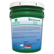 RENEWABLE LUBRICANTS 87264 Food Grade Gear Oil, 5 Gal