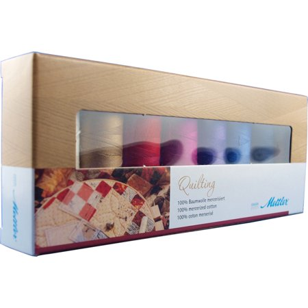 Cotton Machine Quilting Thread Gift Pack 8/Pkg- - Needle Thread Quilting Machines