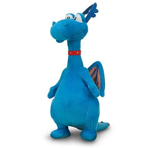 Disney Doc Mcstuffins Stuffy Plush Blue Dragon