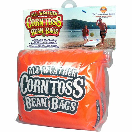 Driveway Games All Weather Corntoss Bean Bags  Orange