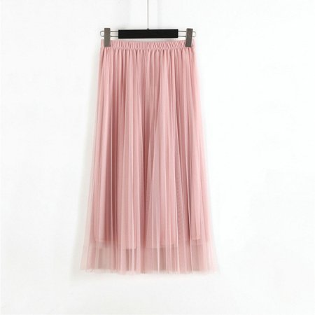 Woman New Fashion Korean Skirt Gauze Skirt Multi-layer Gauze Tutu In Long (80's Fashion Tutu Skirts)