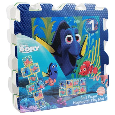 8pc Disney Finding Dory Foam Hopscotch Puzzle Activity Mat
