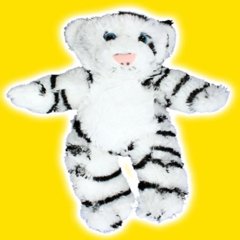8 White Tiger Make Your Own No Sew Stuffed Animal Kit Walmart Com