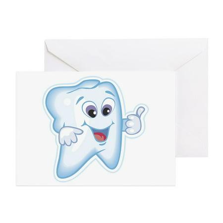 CafePress - Funny Dentist Dental Humor - Greeting Card, Blank Inside Glossy](Dental Halloween Humor)