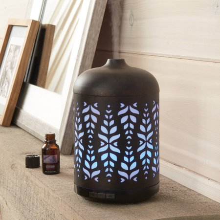 Better homes and gardens roman wave 250 ml cool mist ultrasonic aroma diffuser Better homes and gardens diffuser