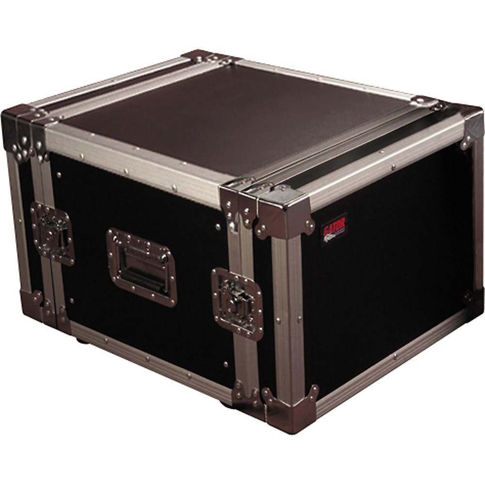"ATA Wood Flight Rack Case; 8U; 17"" Deep"