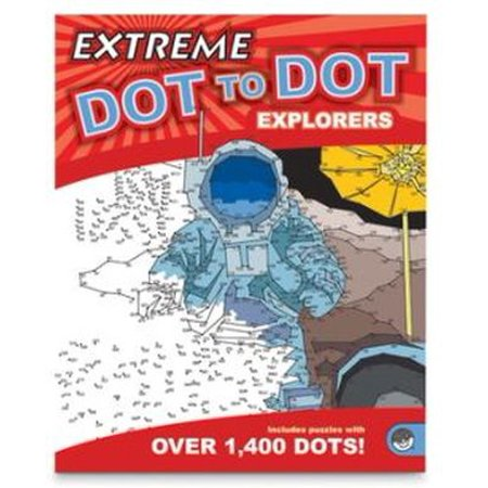 Extreme Dot To Dot: Explorers Drawing/coloring - Extreme Dot To Dots