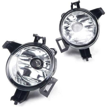 Fog Light For 04-06 Nissan Quest Clear Lens, Pair