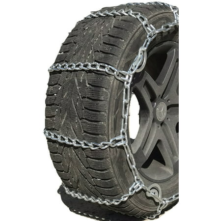 Snow Chains 3231  35X12.50-20 Cam Tire Chains Rubber Tensioners - image 4 de 4