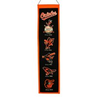"""Baltimore Orioles 8"""" x 32"""" Heritage Banner"""