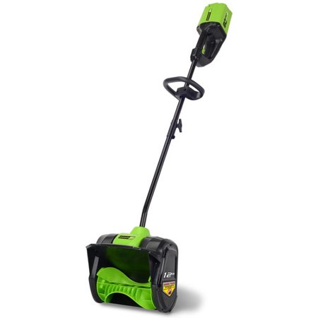 Snow Tools (Greenworks 2601202 Pro 80V Cordless Lithium-Ion 12 in. Snow Shovel (Bare)