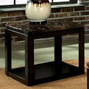 Standard Furniture Bella End Table with Marbella Top