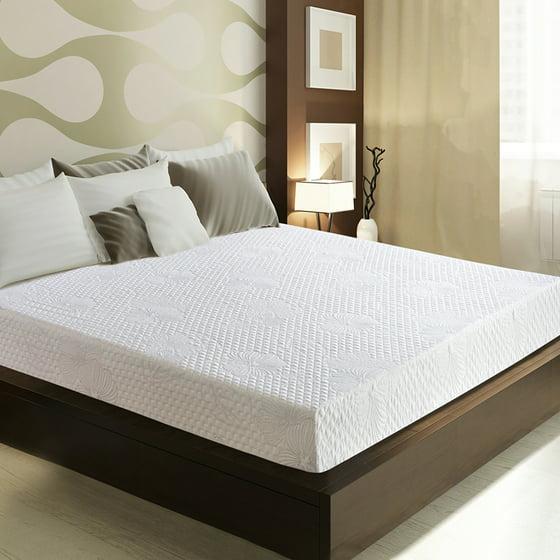 granrest 9 inch luna memory foam mattress mattress in a box. Black Bedroom Furniture Sets. Home Design Ideas