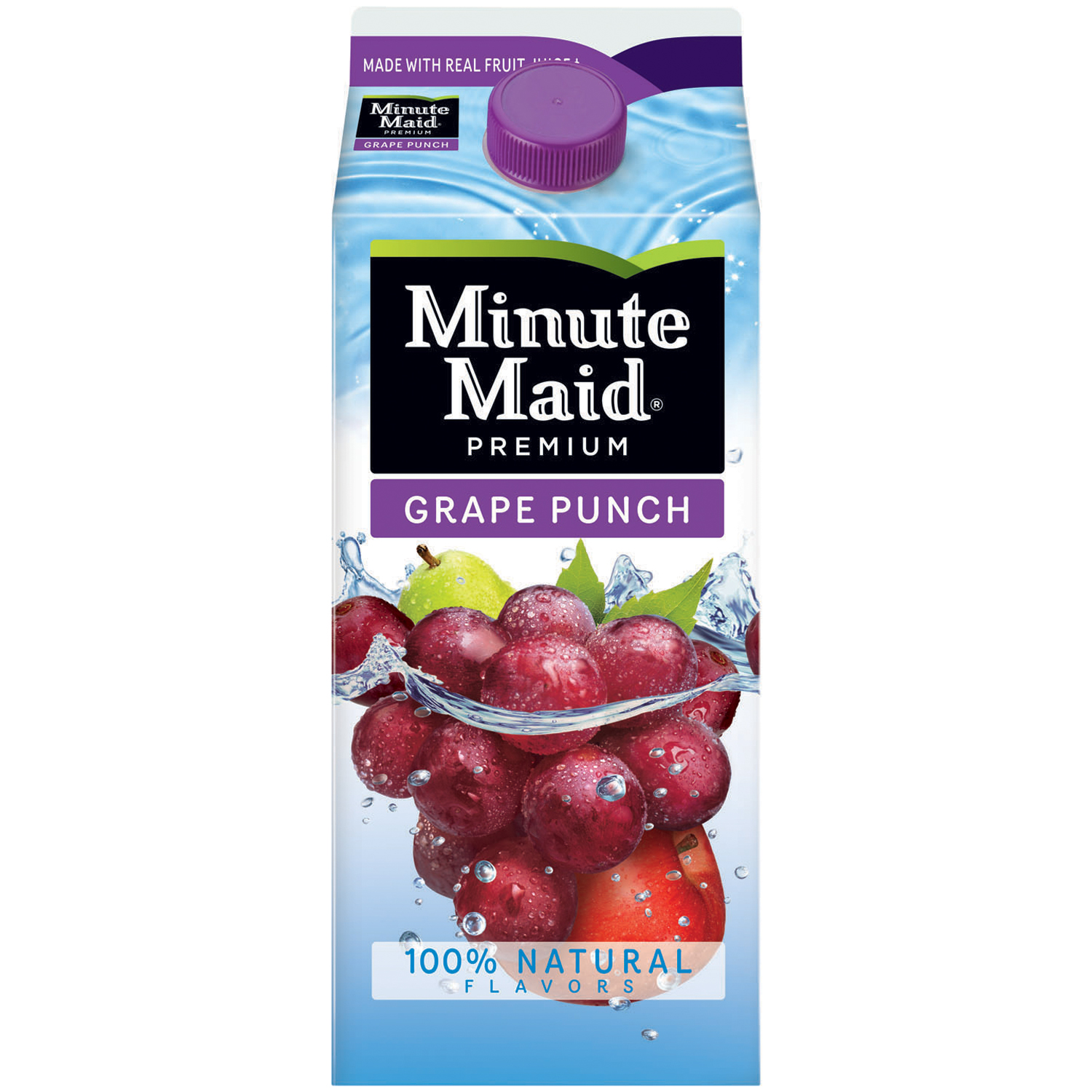 Minute Maid® Premium Grape Punch 59 fl. oz. Carton