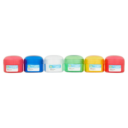 iGo 2.5 oz Travel Pill Jars, 6 count ()