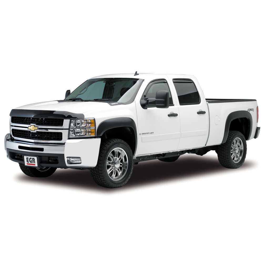EGR SUPERGUARD BUG SHEILD,  DARK SMOKE