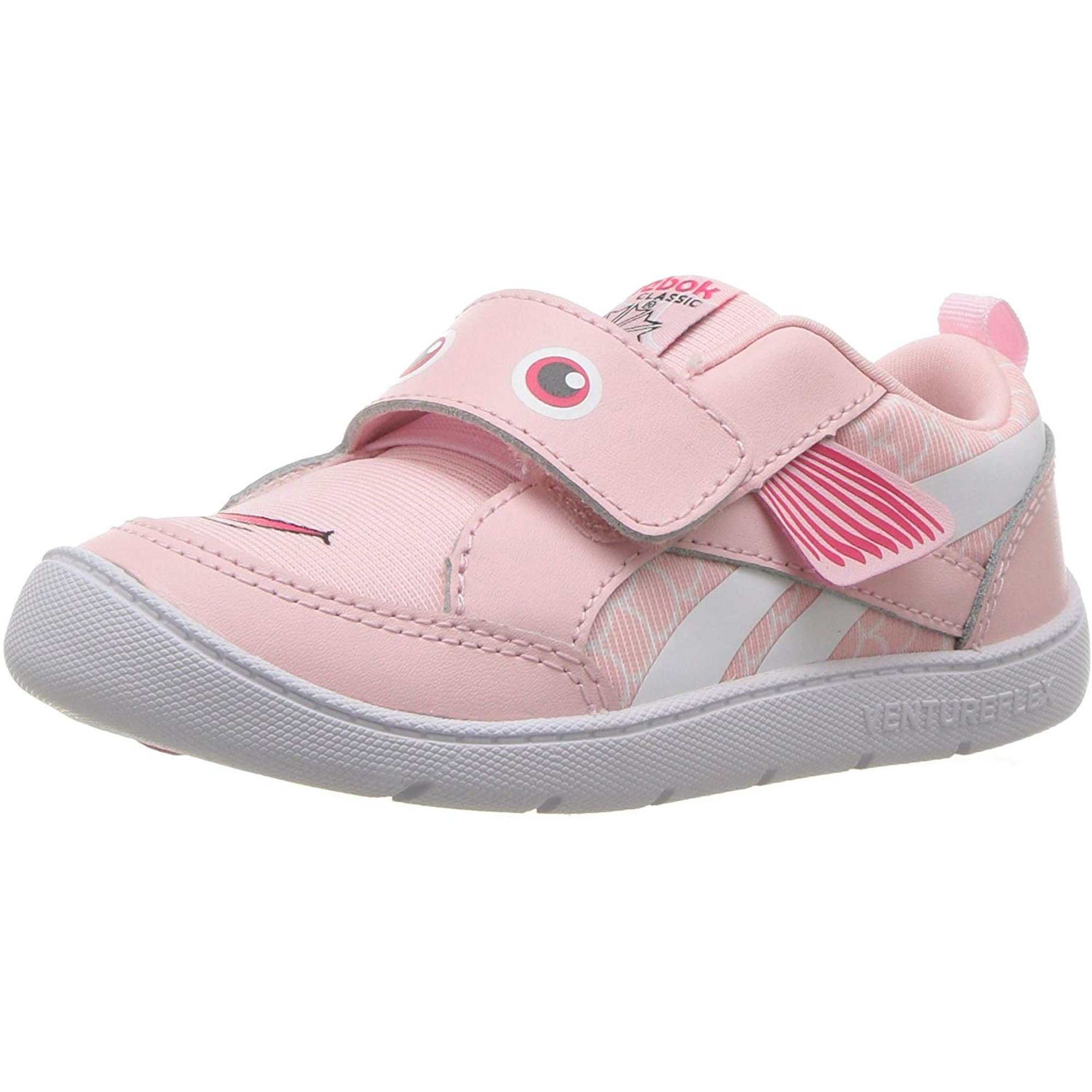 Fortalecer lotería Contribuir  Reebok Baby Ventureflex Chase Ii Sneaker, Fish-Practical Pink/White, 7.5 M  US Toddler | Walmart Canada