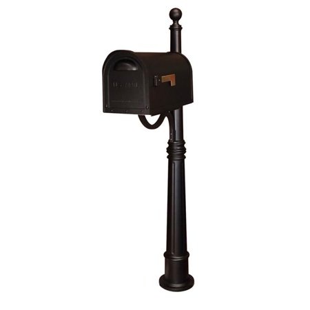 Special Lite Products Classic Curbside Mailbox with Ashland Mailbox Post Unit