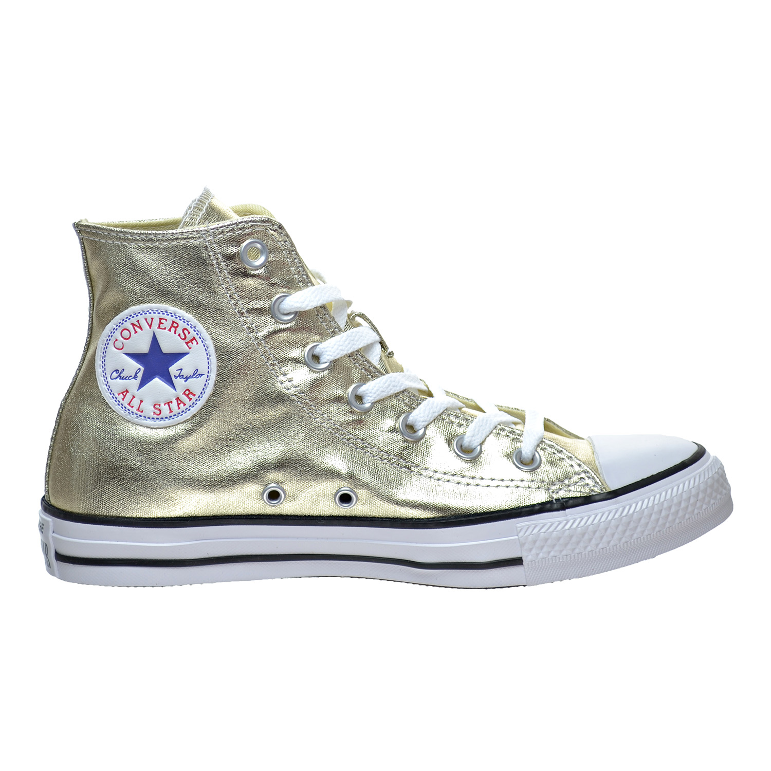 Converse Chuck Taylor All Star High Top Men's Shoes Light Gold White Black 153178f by Converse