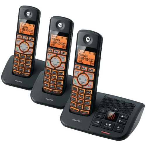 Motorola DECT 6.0 Cordless Backlit Phone Replacement Handset /& Cradle K704B NEW