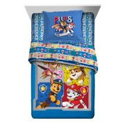 PAW Patrol 2-Piece Comforter and Sham Set, Kids Bedding, Twin/Full