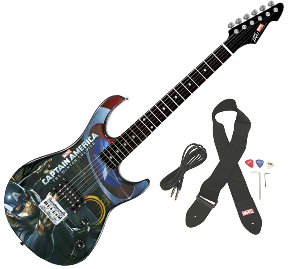 Peavey Rockmaster Marvel Captain America - The Winter Soldier Electric Guitar