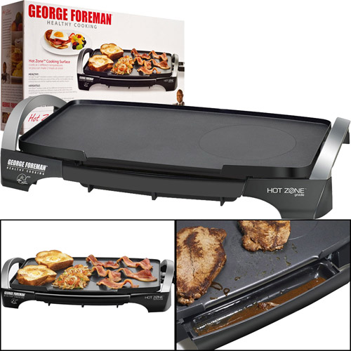 George Foreman Hot Zone Sear & Griddle