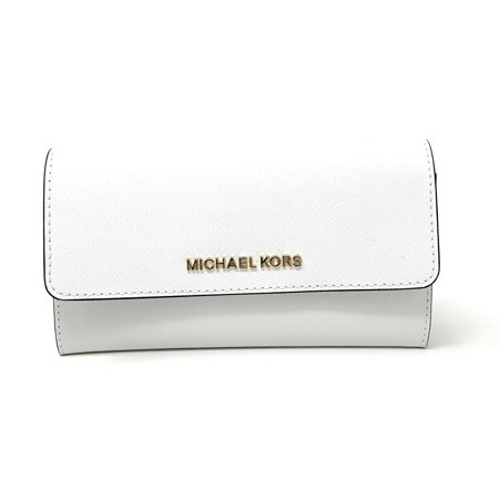 1a312aebba04 Michael Kors - Michael Kors Jet Set Travel Large Trifold Leather Wallet