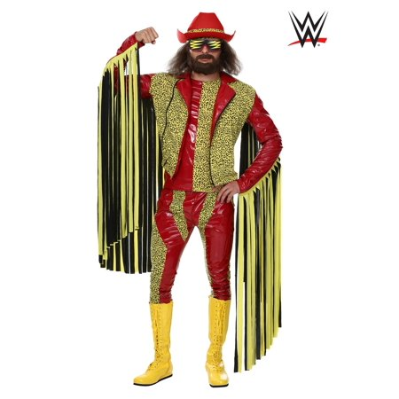 Man In The Yellow Hat Costume (Plus Size Macho Man Randy Savage)