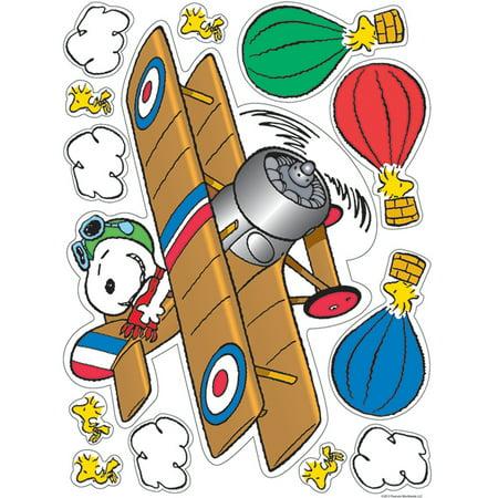 PEANUTS FLYING ACE WINDOW CLINGS](Peanuts Halloween Window Clings)