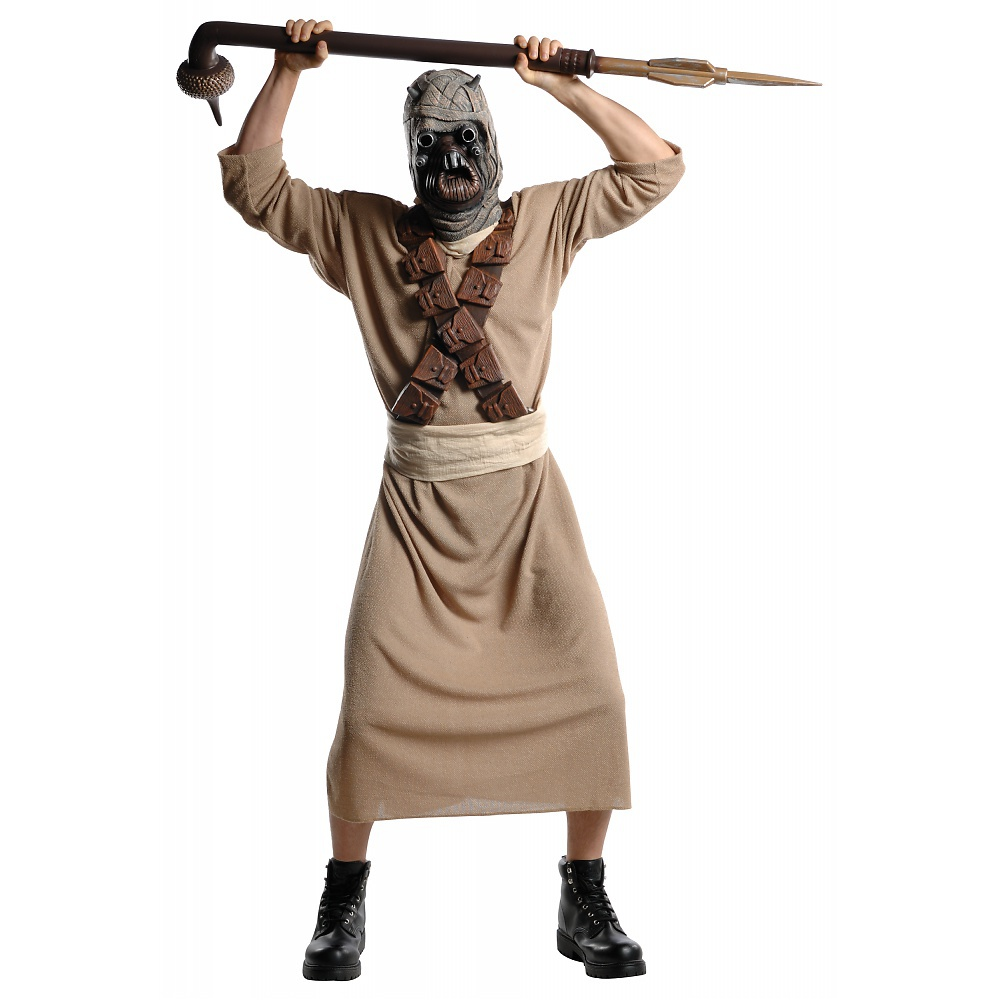 Star Wars Mens Dlx. Tusken Raider Adult Halloween Costume