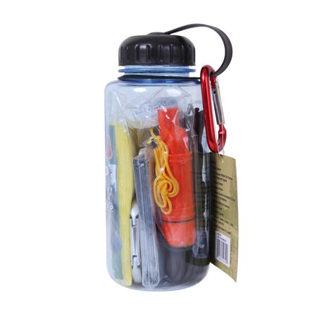 Rothco Water Bottle Camping / Emergency / Automobile Survival (Camping Bottles)