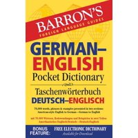 German-English Pocket Dictionary : 70,000 words, phrases & examples