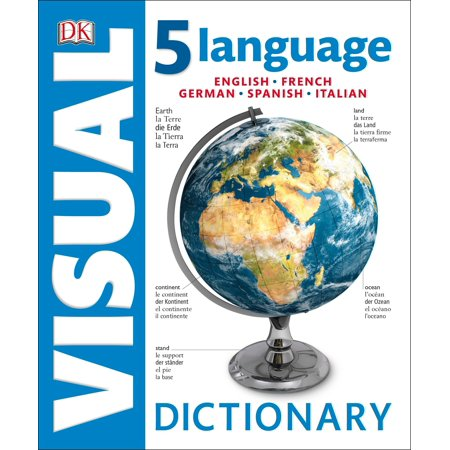 5 Language Visual Dictionary : English, French, German, Spanish, (Best German English Dictionary For Kindle)