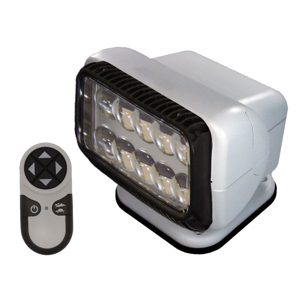 GOLIGHT PERMANENT RADIORAY LED  W/ WIRELESS REMOTE WHITE