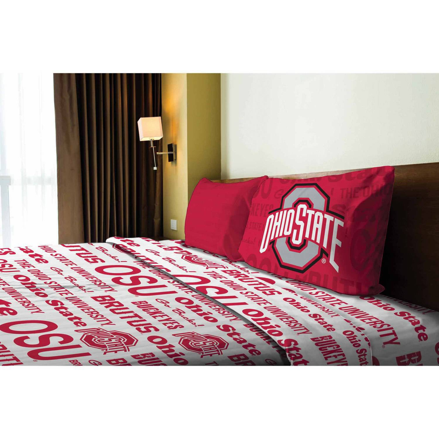 NCAA Ohio State Buckeyes Sheet Set