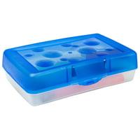 Storex Pencil Case, Blue (12 units/pack)