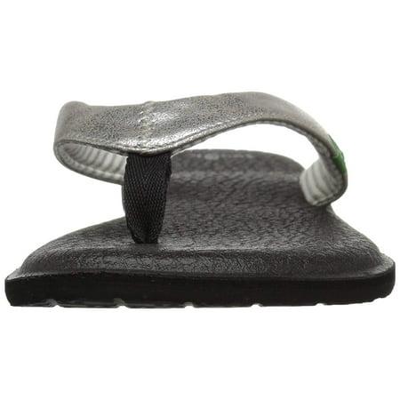 3589e0cc4794 Sanuk Yoga Chakra Metallic Flip-Flop - image 1 of 2 ...